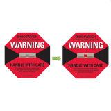 Etiqueta engomada modificada para requisitos particulares del sensor del impacto del indicador del choque de Shockaction