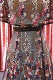 Мода цветы чай длина платье 2018 платье пружины