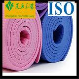 Couvre-tapis de yoga de PE personnalisé par vente en gros, sous-programme de couvre-tapis de Pilates