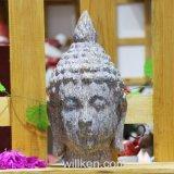 L'imitazione personalizzata dell'oggetto d'antiquariato della scultura della decorazione del giardino perfezionamento la testa del Buddha