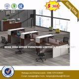 2 sièges directement la station de travail de bureau Bureau du personnel de la partition en cluster (HX-8NR0521)