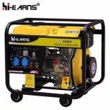 Generador portable con cuatro ruedas (DG3000E)