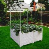 Keramischer Blumen-Potenziometer mit expandierbares Gitter angehobenem Garten-Bett-Pflanzer