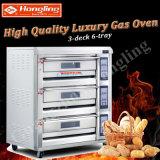 최신 공장 가격을%s 가진 판매에 의하여 주문을 받아서 만들어지는 가스 갑판 굽기 피자 오븐