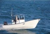 Liya 7.6mのガラス繊維のボートの漁船のガラス繊維の漁船