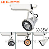 Luz de aluminio blanca caliente de la pista del departamento LED 35W