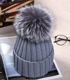 卸し売り高品質Foxの球によって編まれる帽子