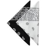 100% coton bandanas bandeaux Cowboy bandana pour les hommes et femmes