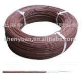 UL3068 18 AWG 26 30 AWG trenzado El cable de silicona de fibra de vidrio