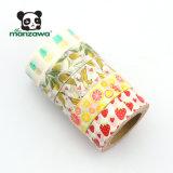 Japanische Bananen-Entwurfs-Papier-Kern anhaftendes Washi Soem-15mm*10m Lochstreifen für die Geschenk-Kasten-Verpackung