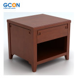 Luxury Star Rated Hotel Furniture Wooden Nightstand Bedroom Set