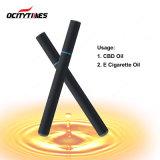 Ocitytimes 도매 300puffs는 Cbd 기름을%s 처분할 수 있는 전자 담배를 비운다