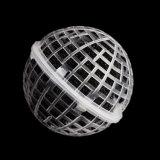 A esfera especial da suspensão encheu-se com os bio media de filtro suspendidos