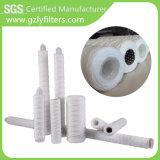 Precio barato cartucho de la herida del alambre de la cadena del filtro del algodón de los PP de 1/5/10 micrón