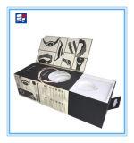 Rectángulo electrónico de papel del producto de la aduana que graba con el cajón de la maneta