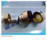 Latão Cutomized Válvula Usinagem CNC de alta precisão