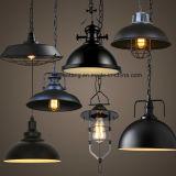 Lámpara pendiente de la lámpara industrial del estilo para la decoración de la casa