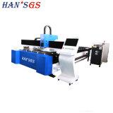 Tagliatrice efficiente del laser della fibra del tubo/piatto del metallo di CNC di offerta