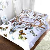 Reeks van het Beddegoed van het Ontwerp van het Beddegoed van de Vlinder van Dreamcatcher de Vastgestelde Nieuwe
