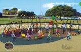 Strumentazione divertente del campo da giuoco della Comunità del giocattolo dei giochi dei bambini