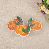 La fragancia de color naranja Ambientador de coche colgante de papel para la promoción (YH-AF495)