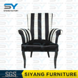 時代物の家具の鋼鉄椅子のホテルの椅子の革余暇の椅子