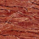 Kijkt het Marmer van de Rode Kleur van het Bouwmateriaal Tegel van de Vloer van het Porselein van de Bevloering de Volledige Opgepoetste