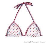La venta caliente modifica el bikiní deportivo fresco de la cadena para requisitos particulares de la raya de Panty del traje de baño