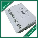 Caixa de papel impressa logotipo de alimento de cão do animal de estimação