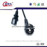 Gemt Marke europäisches Wechselstrom-Kabel mit speziellem Aussehen-Entwurf