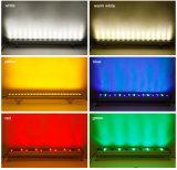 Arruela dobro da parede do diodo emissor de luz RGB da fileira da microplaqueta 36With48With72W de Epistar