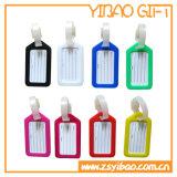 Etiqueta de bagagem de borracha de PVC personalizadas para o saco (YB-LY-LT-32)