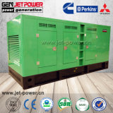 Weniger leisen Dieselgenerator des Generator-160kVA mit Perkins-Motor tanken