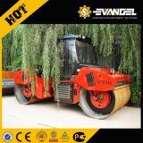 12 toneladas de vibración hidráulica Road Roller Dual-Drum LTC212 con Cummins