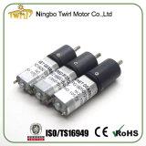 Alta precisión de bajo ruido de 16mm 12V DC motorreductor