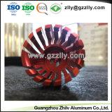 Цветные из анодированного алюминия с вентилятором для светодиодного освещения