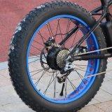 750W 4.5インチのの高さの速度の脂肪質のタイヤの電気マウンテンバイクの安い人浜の巡洋艦の自転車