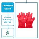 中国の製造業者によってカスタマイズされるシリコーンゴムの耐熱性電子レンジの手袋型