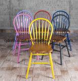 미국 Retro 형식 뒤 창조적인 식사 의자 대중음식점 및 여가, 의자 여가 단단한 나무 의자 (M-X3298)를 식사하는 단철 단단한 나무