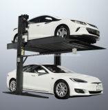 Overgroundのガレージ装置2つの2つの層車の駐車システム上昇