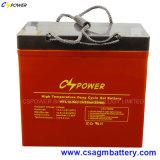 Pumpen-Batterie-tiefe Schleife-Gel-Batterie 12V 55ah für Inverter