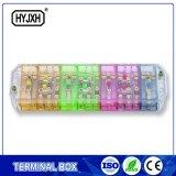 Energia di tensione della resina e della fibra di vetro che misura blocchetto terminali