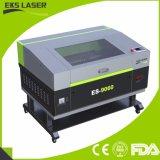80W 9060CO2 Laser-Scherblock mit Art drei der Laser-Gravierfräsmaschine des Laser-Kopfes