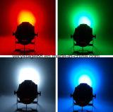 18 stukken 10W van RGBW 4 in 1 Verlichting van de Partij van de Disco van de Gebeurtenis van het LEIDENE PARI van het Gezoem