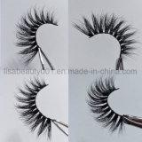 Heiße verkaufennerz-falsche Wimpern Doppelt-Schicht natürliche reale Nerz-Pelz-Peitschen für grosse Augen