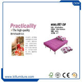 Het multifunctionele die Bed van de Bank van de Stof voor de Zaal van het Bed in China wordt gemaakt
