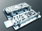 CNC de la alta precisión que trabaja a máquina estampando el molde para estampar el proceso
