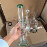 Bontek 12 Polegadas tubos de água do tubo de vidro de Diamante