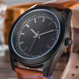 Изготовленный на заказ wristwatches способа вахты кварца логоса для повелительниц людей (WY-17014A)