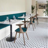 Cadeira de jantar de madeira da mobília moderna da sala de jantar do restaurante